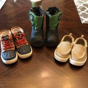 Toddler 6C Fall/Winter Shoe Boot/Loafer Bundle